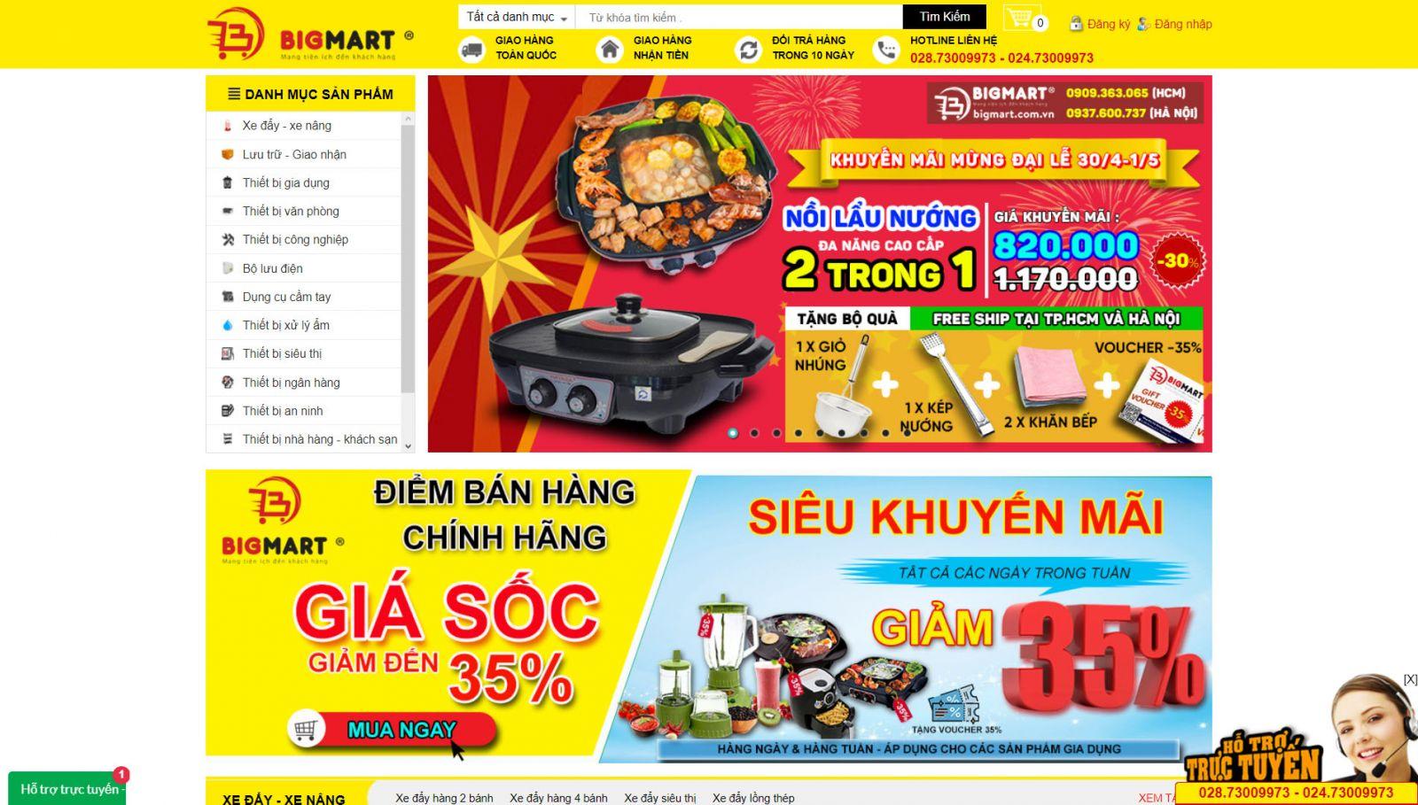 Website bigmart.com.vn