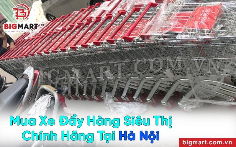 Mua xe đẩy siêu thị giá rẻ tại Hà Nội