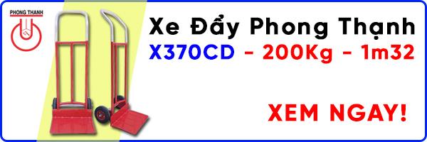 Xe đẩy Phong Thạnh X370CD