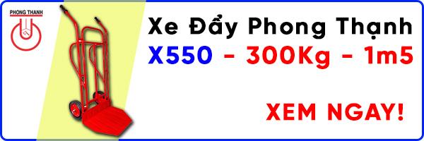 Xe đẩy Phong Thạnh X550