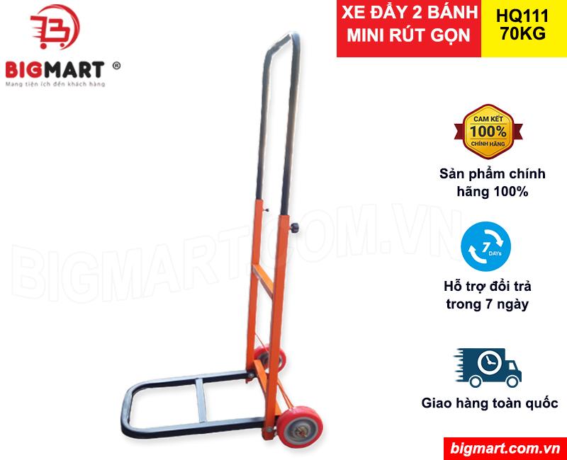 Xe đẩy 2 bánh mini gấp gọn giá rẻ tại Bigmart.com.vn