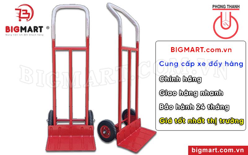 Bigmart chuyên cung cấp xe đẩy hàng Phong Thạnh chính hãng bảo hành 24 tháng