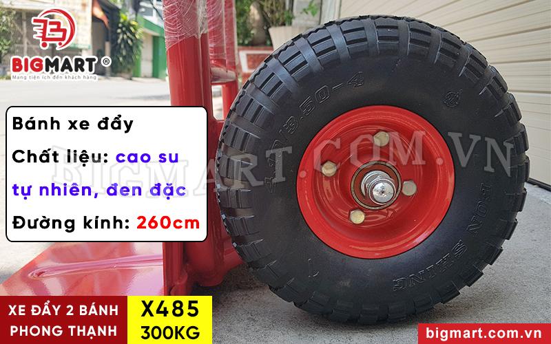 Bánh xe đẩy Phong Thạnh X485