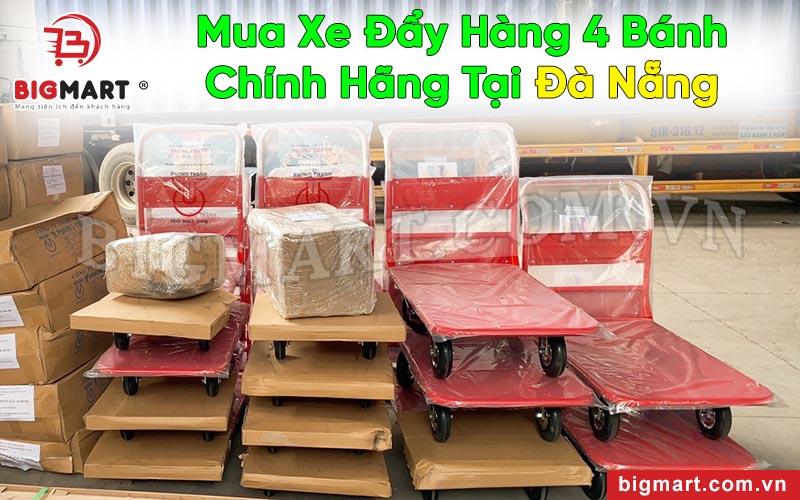 Địa chỉ mua xe kéo đẩy 4 bánh tại Đà Nẵng