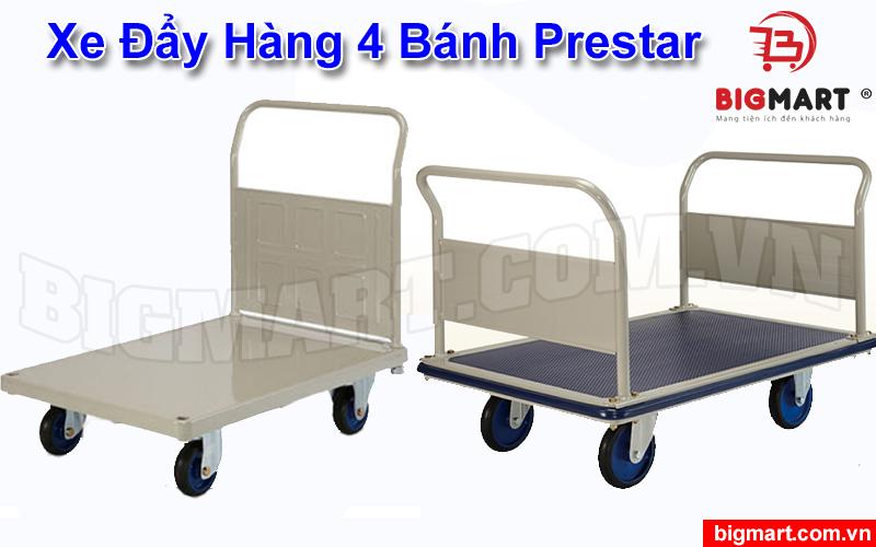Xe đẩy hàng 4 bánh Prestar