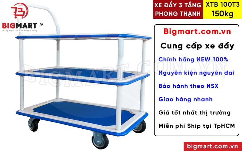 Mua xe đẩy Phong Thạnh XTB 100T3 chính hãng tại BIGMART