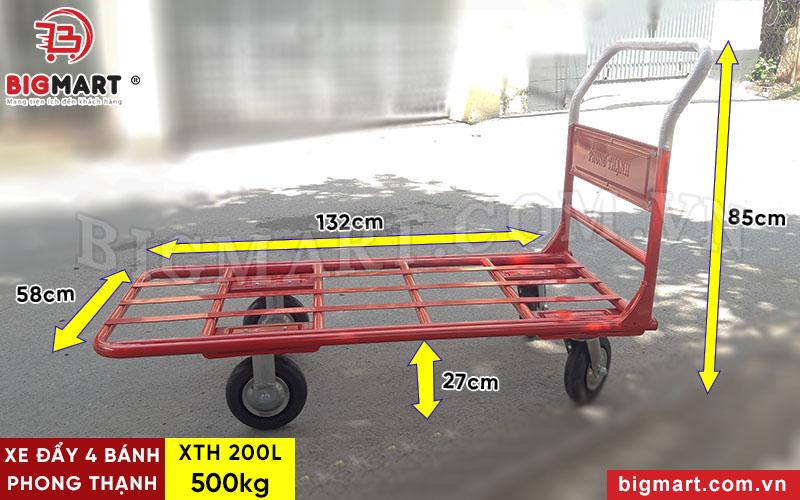 Thông số kích thước xe đẩy