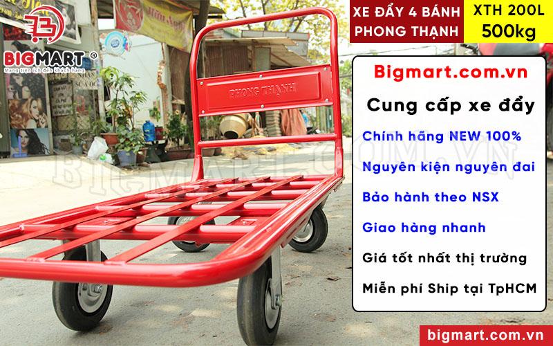 Mua xe đẩy Phong Thạnh XTH 200L chính hãng tại BIGMART