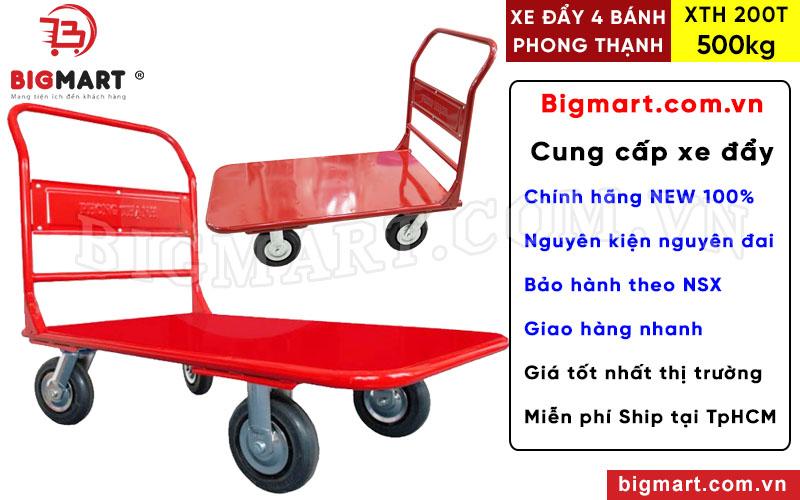 Mua xe đẩy hàng Phong Thạnh XTH 200T chính hãng tại BIGMART