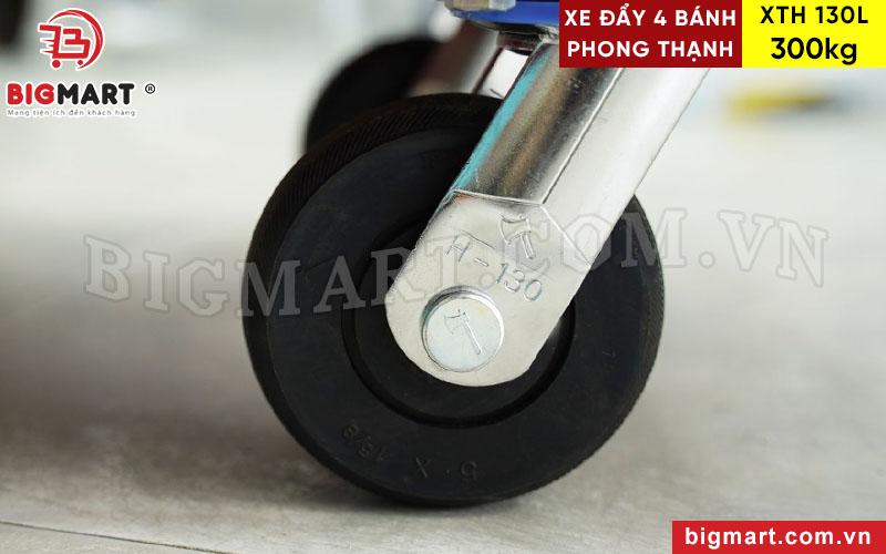 Càng xe đẩy H130 đường kính bánh 125mm