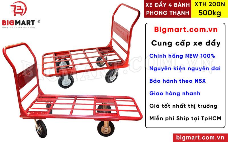 Mua xe đẩy hàng Phong Thạnh 500kg XTH 200N chính hãng tại BIGMART