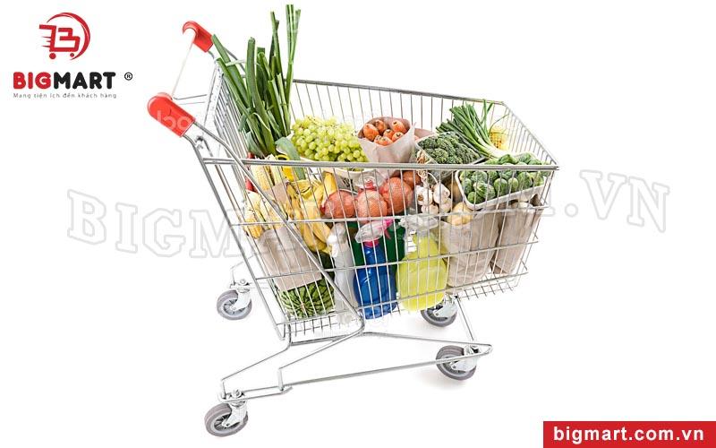 Chọn xe đẩy siêu thị tại đơn vị uy tín có bảo hành rõ ràng