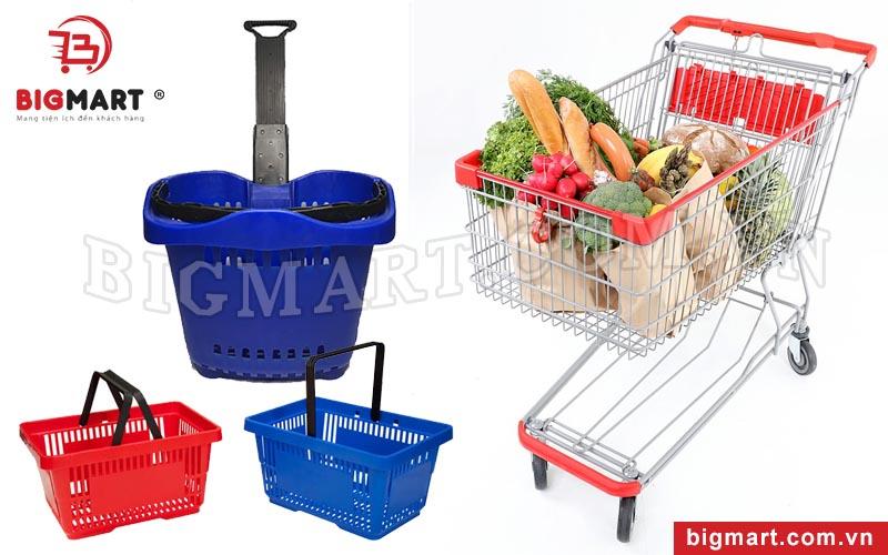Giỏ hàng, Xe đẩy siêu thị Bigmart