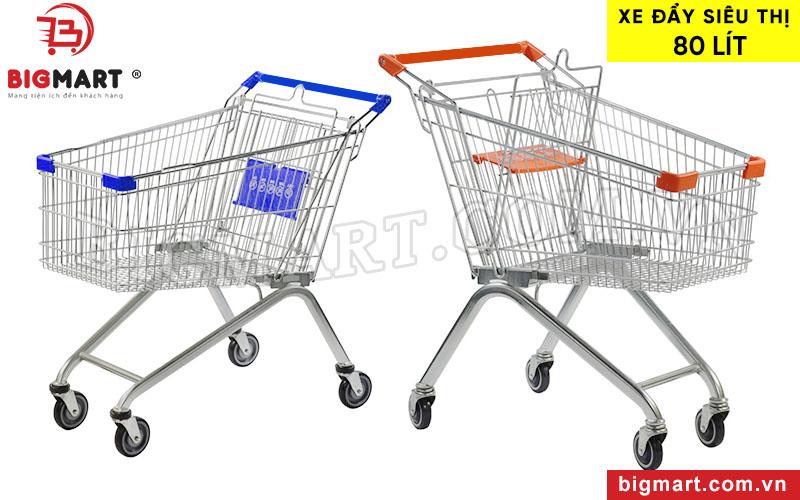 ·Xe đẩy siêu thị 80L